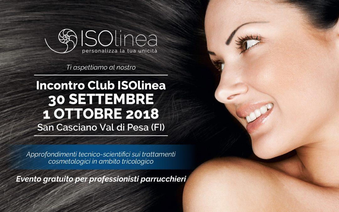 30 Settembre e 1 Ottobre Incontro Club ISOlinea