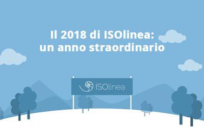 Il 2018 di ISOlinea: un anno straordinario